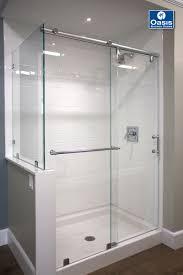 bypass shower door. Home Interior: Destiny Frameless Sliding Shower Doors DreamLine Enigma X 56 In To 60 76 Bypass Door