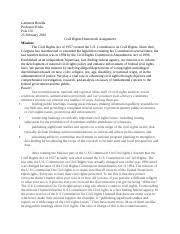 civil rights study resources 2 pages civil rights