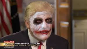 donald trump defends immigration ban as the joker in surprisingly seamless parody hollywood reporter