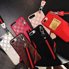 Designer Phone Lanyards Designer Phone Case With Lanyard Clip Case For Iphonex Xsmax Iphone 7p 8p 7 8 6 6sp 6 6splus Fashion Brand Back Cover 6 Styles Phone Cover Customized