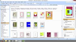 How To Create A Greeting Card With Microsoft Publisher Youtube