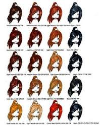 96 Best Copic Hair Coloring Combo W Skin Images Copic