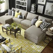 livingroomdoublechaisesectionaloversizedsectionalwithdualchaise sectional