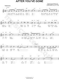 since you been gone sheet music