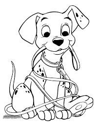 Small Picture 101 Dalmatians Coloring Pages 2 Disney Coloring Book