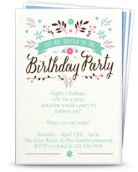 Girl Birthday Invitation Templates Clipart Images Gallery