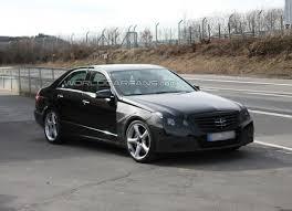 Spy Shots – 2010 Mercedes E63 AMG Sedan