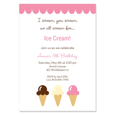 birthday and party invitation ice cream party invitations wording inspiration of ice cream social ideas