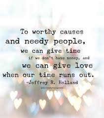 Service Quotes New Ldsquotes Elderholland Charity Love Time Service Lighttheworld