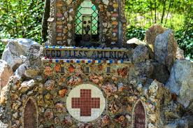 Mini Grotto Design For House Ave Maria Grotto In Cullman Alabama Is A Landscaped 4