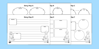 Story Map Template Story Map Worksheet Activity Sheets Pack Story Map Stories