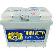 Автомобильный <b>аккумулятор Tyumen Battery</b> Premium 64 Ач обр ...