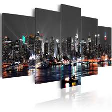>vibrant inspiration new york city canvas wall art home remodel high  pleasant design new york city canvas wall art layout minimalist large canvas wall art print image