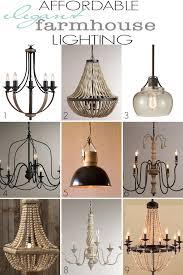 farmhouse style lighting. affordable elegant farmhouse lighting style