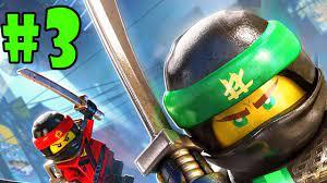 LEGO Ninjago Movie Video Game - Walkthrough - Part 2 - Ninjago City North  (PS4 HD) [1080p60FPS] - YouTube