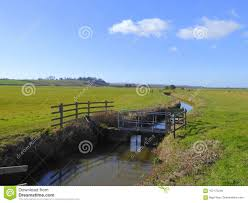 drainage ditch sluice gate on a drainage ditch stock photo image of ditch