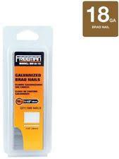 18 gauge finish nails. freeman 18-gauge brad nailer nail air gun galvanized nails, 1000 pcs, 1 18 gauge finish nails