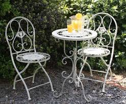 patio metal patio table and chairs antique wrought iron patio furniture vintage style of chair