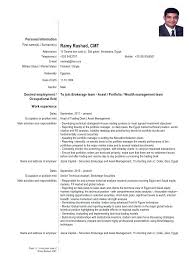 Cfa Level 1 Candidate Resume Updated Cover Letter Doc Putting On