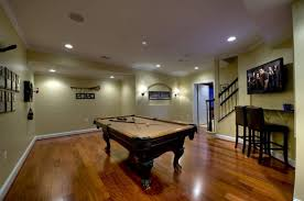 games room lighting. Basement Game Room Using Pool Table And Recessed Lights : Ideal Good Lighting Fixtures Games