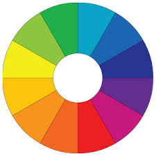 Colour Wheel Chart Colors Color For Dress Color For Interiors Color Therapy Color