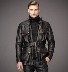 nice usa black belstaff leather jacket mens knockhill jacket in bull grain leather zero profit