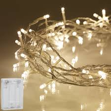 Warm White Light String Led String Fairy Lights Warm White Battery Operated