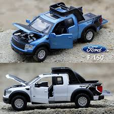 Cool 1:32 scale Diecast Car Models for Ford F150 pick up Children ...