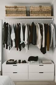 how to build an open concept closet diy open closet clothing storage for small