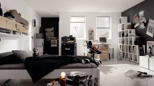 white teen furniture. Masculine Black White Teen Boys Bedroom Ideas Using Music Theme Decor With Stepped Wooden Shelves And Bedding Sets Furniture A