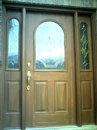 painting a steel front door how to paint a metal door to look like wood grain