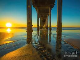 Serenity in San Diego Sunset 2 Photograph by Edward Fielding