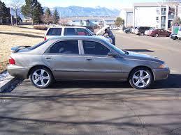 2001 Mazda 626 Lx With Mazda 3 17 Inch Wheels - 1998-2002 ...