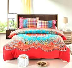 bohemian bed sets set bedding thicken cotton brushed comforter quilt cover bedspreads style bohemian bed sets