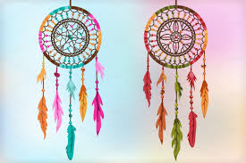 Colorful Dream Catcher Tumblr LOVE IT COLORFUL DREAM CATCHRES creativemarketJGO 2