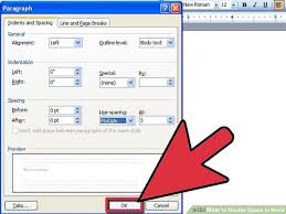 3 Ways To Double Space In Word Wikihow