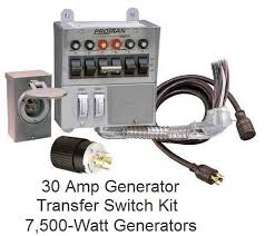 connect electric water heater to generator Wiring Generator To Breaker Box 30 amp generator transfer switch kit wiring generator to circuit breaker box