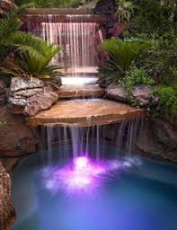 We Need A Little Awesome Photos Pool Waterfall Pool Slides