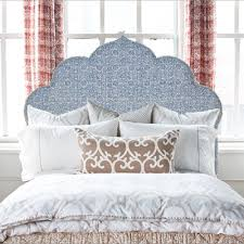 If The Lamp Shade Fits: John Robshaw upholstered headboards