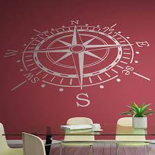 wall stickers compass rose
