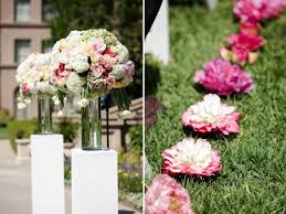 wedding aisle flowers. Need ideas for inexpensive but classy and elegant aisle decor