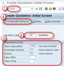 How To Create A Quotation Template Adorable How To Create Quotation SAP VA44