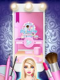 makeup games for s beauty salon fashion model makeover screenshot 6