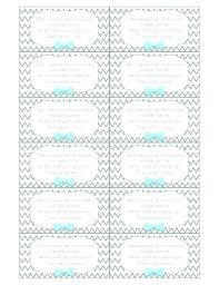 Free Printable Favor Tags Baby Shower Name Tags Template