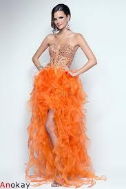 Die besten 25+ Orange ballkleider Ideen auf Pinterest | Orange ...