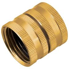 melnor metal double female adapter