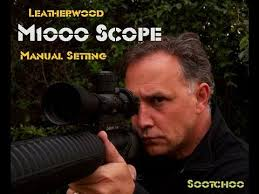 Leatherwood M1000 Manual Magnification