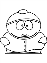 Free Printable South Park Coloring Pages Cartman Coloring Pages