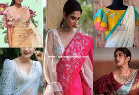 Statement Blouse Designs Stylish And Trendy Saree Blouse Sleeves Designs