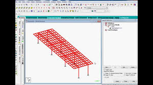 Small Picture Bridge design in staad pro part1 YouTube